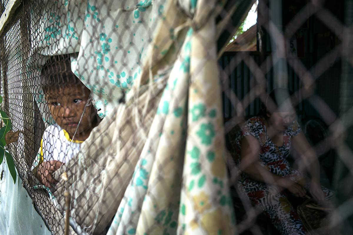 Va Quang Huy. Operado de un problema cardíaco. Delta del Mekong, Vietnam.