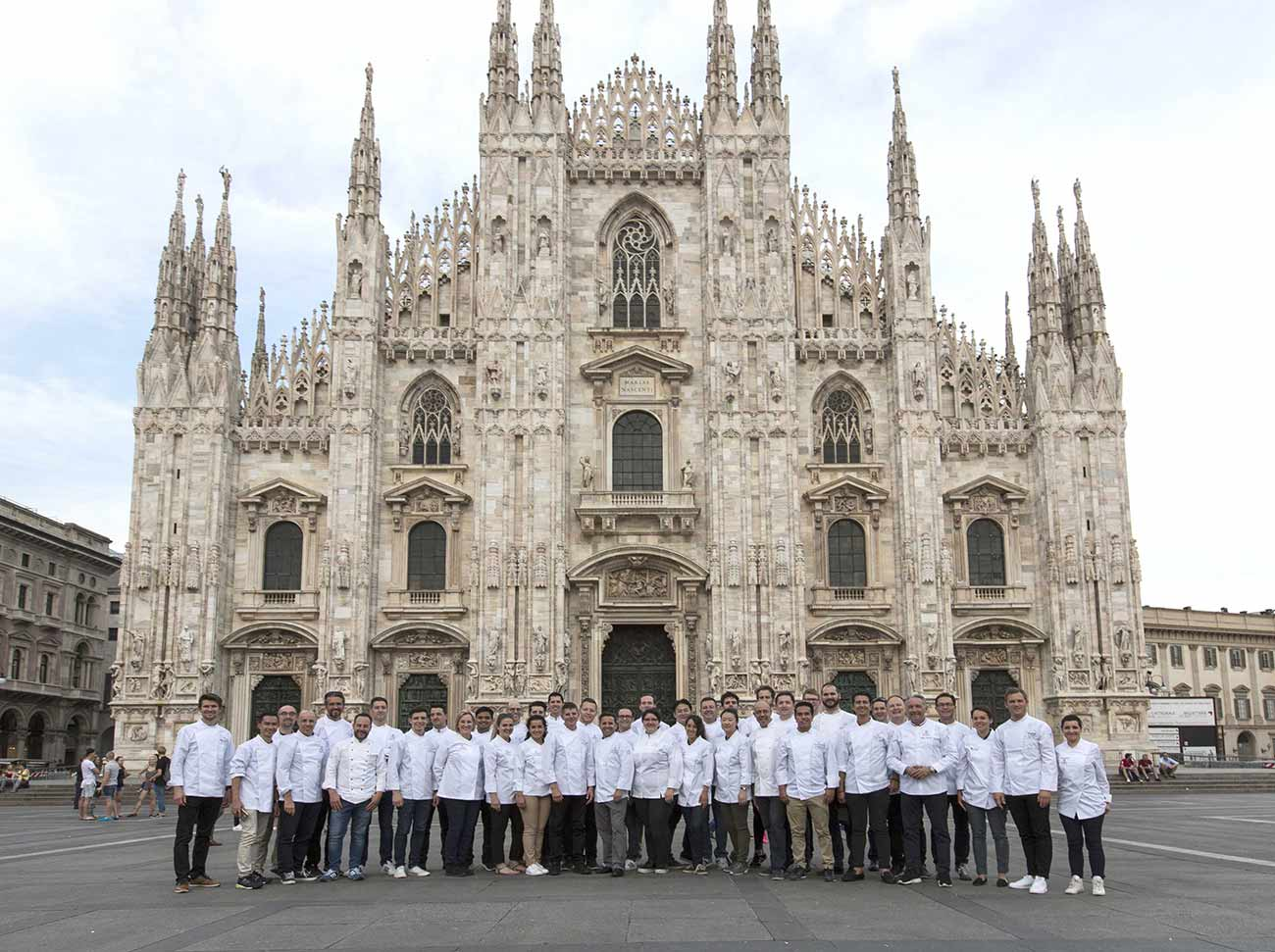 Inside the Gourmet Chefs Seminar, Milan.
