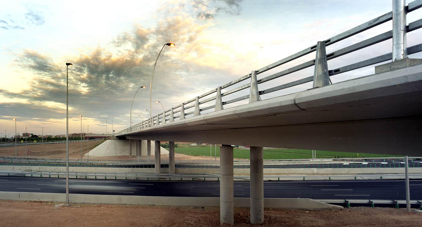 Dragados. Puentes Pista de Ademuz, Valencia.