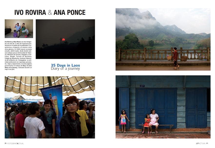 Reportaje publicado en la revista LA FOTOGRAFÍA