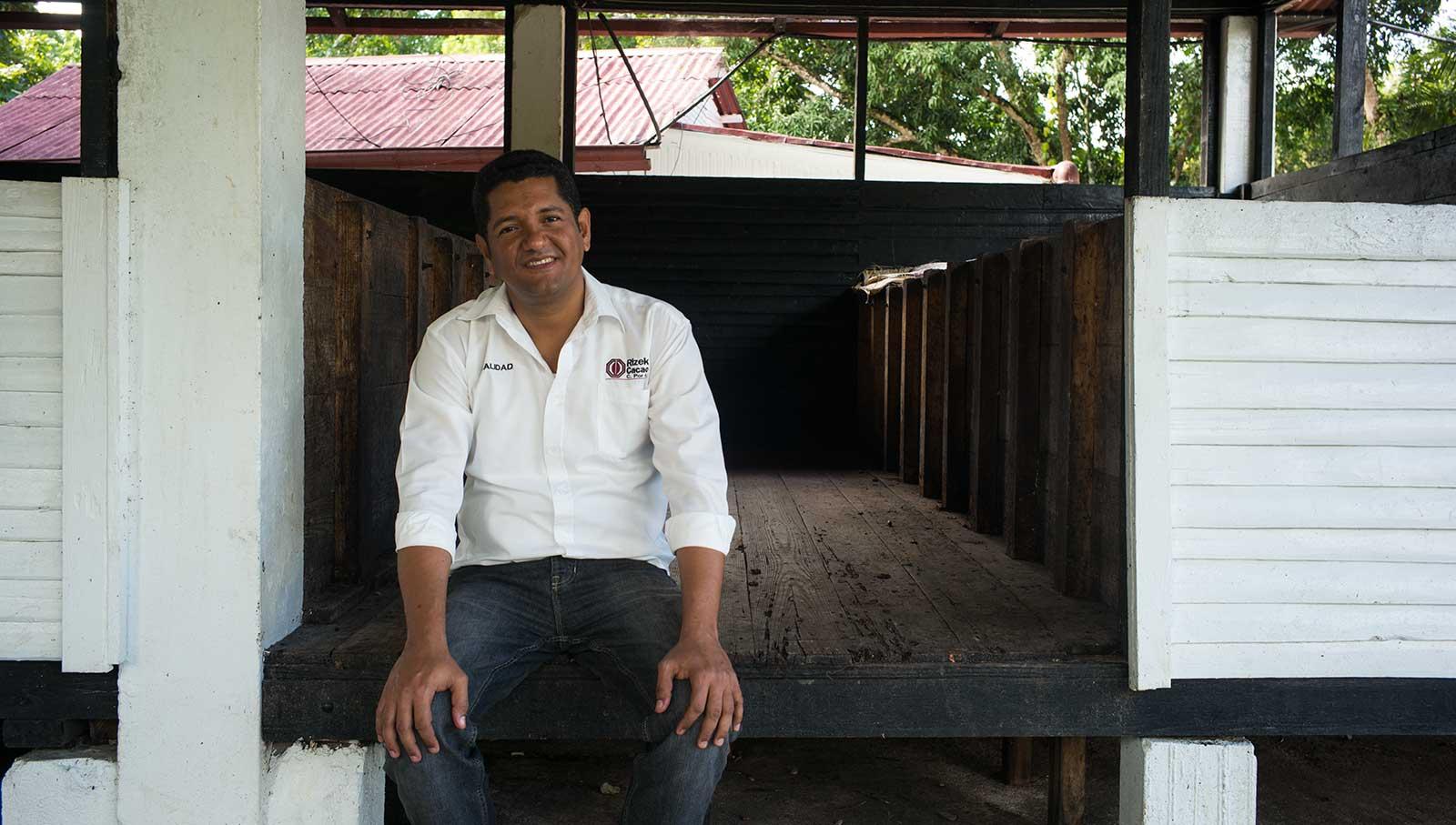 Elvi Reyes Rizek, Cacao Production Manager
