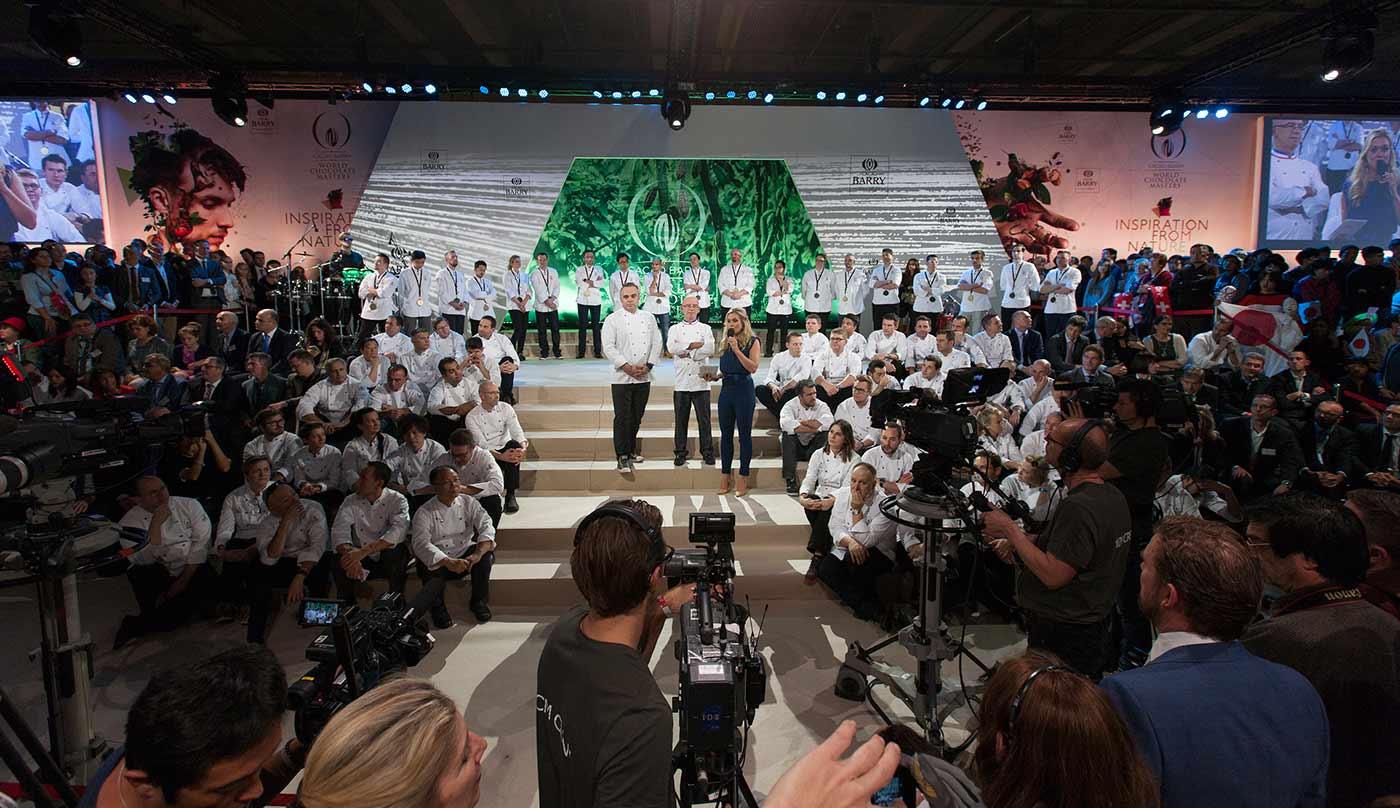 Entrega de premios, final del WCM 2015.