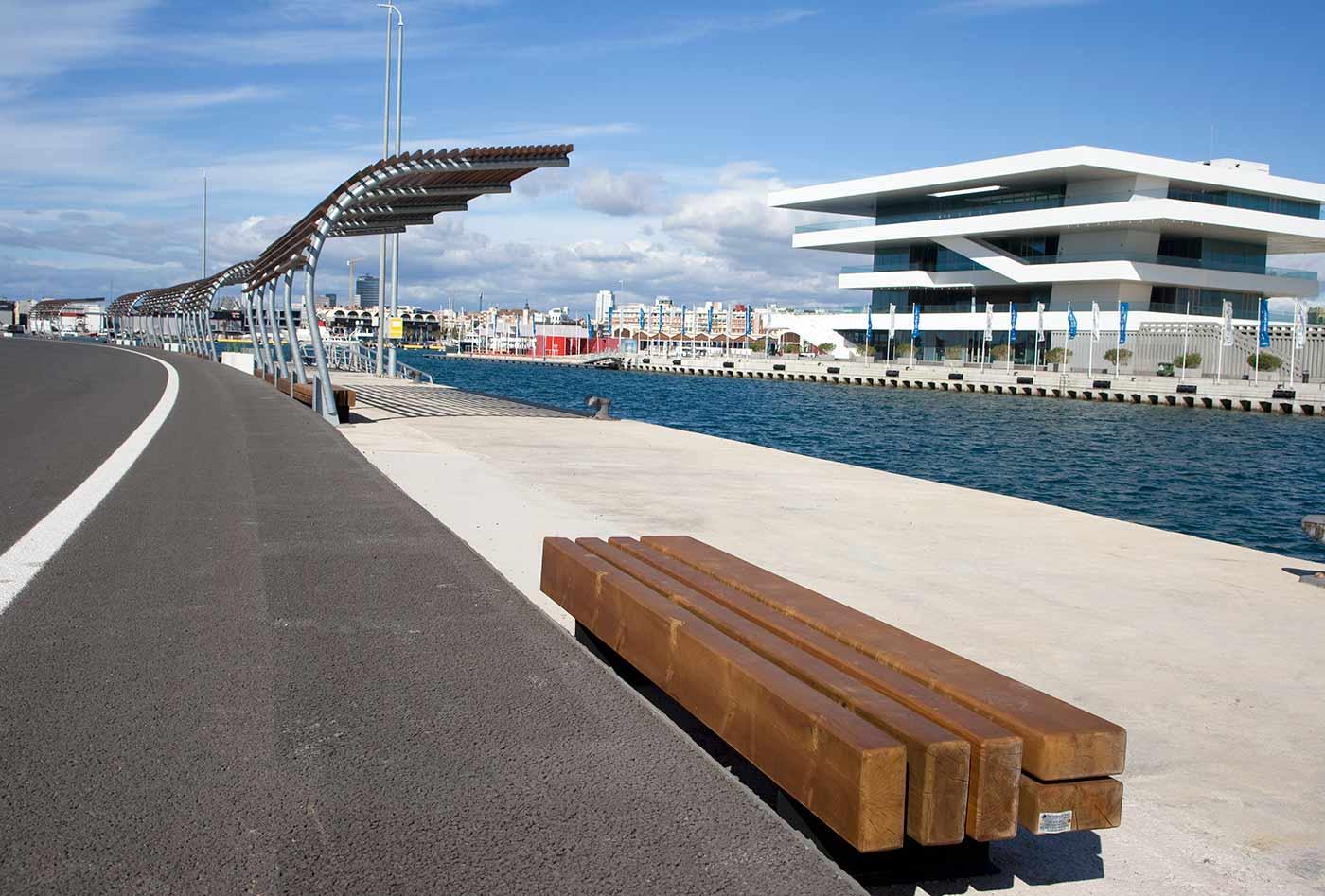 Circuito Urbano Valencia : Mobiliario circuito urbano de f ivo ana