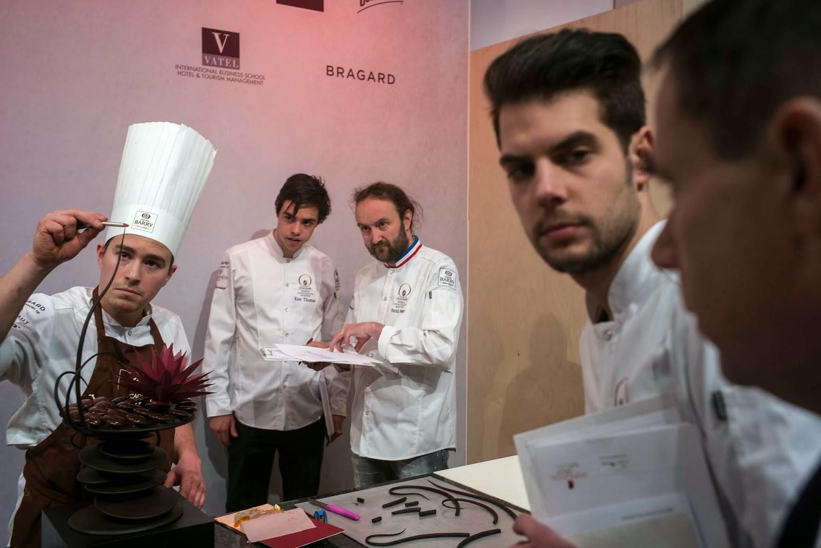 World Chocolate Masters, Preselección Francia 2015