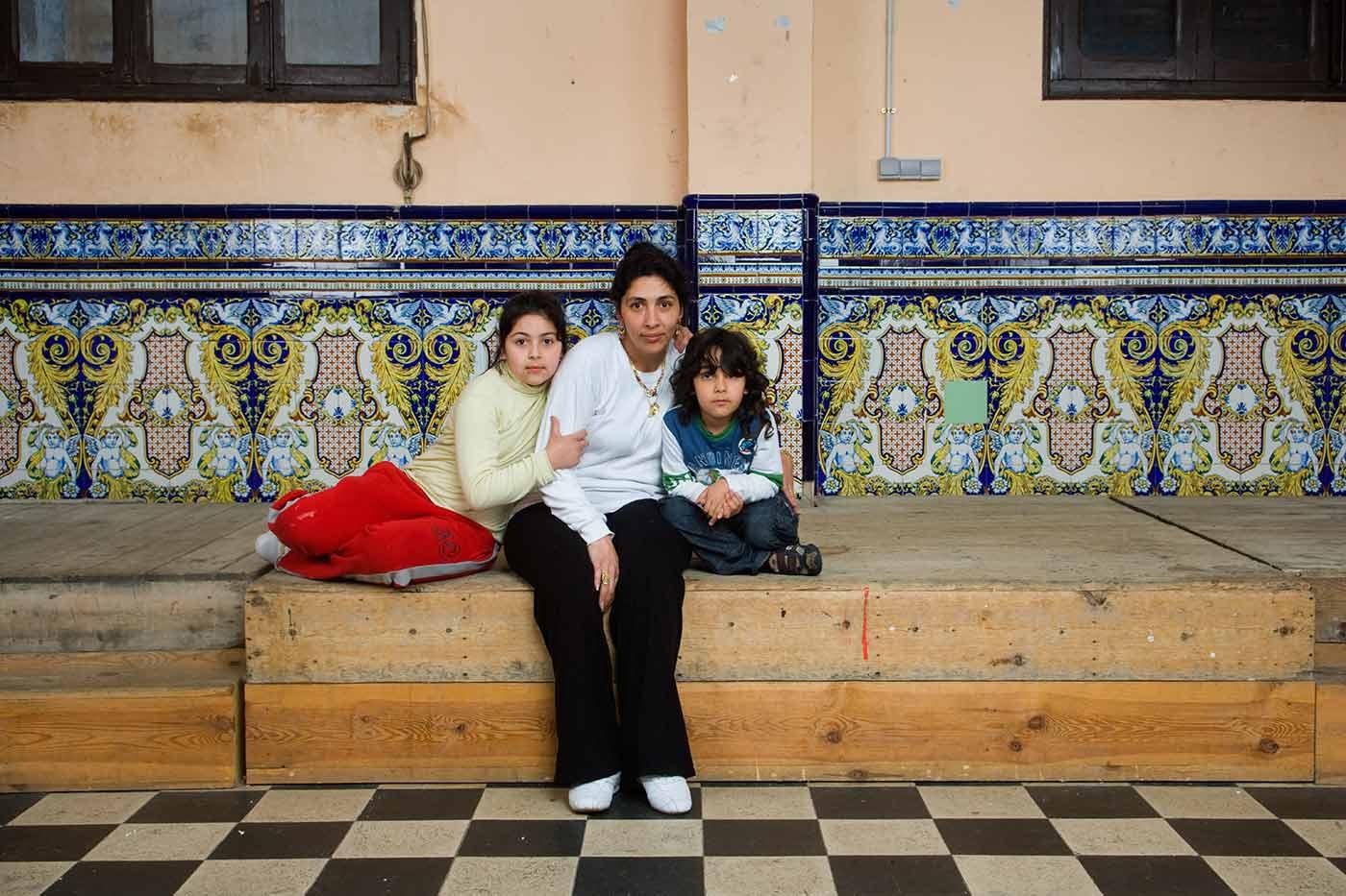 Retratos de familia. El Cabañal, Valencia.