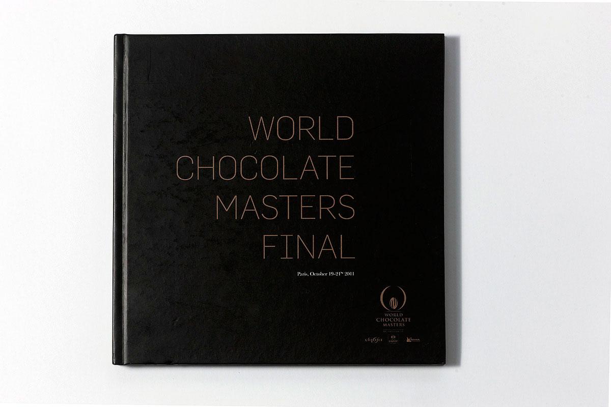 Libro resumen World Chocolate Masters para Cacao Barry