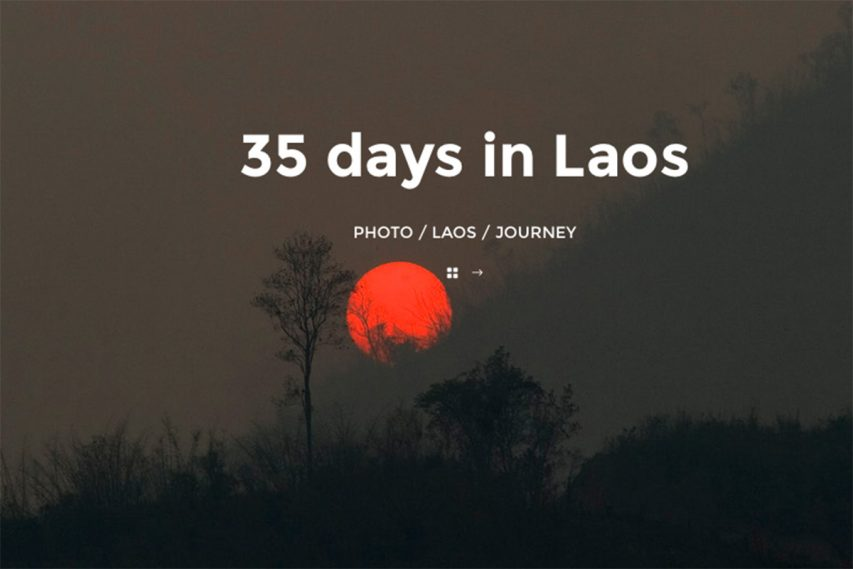 35 DAYS IN LAOS