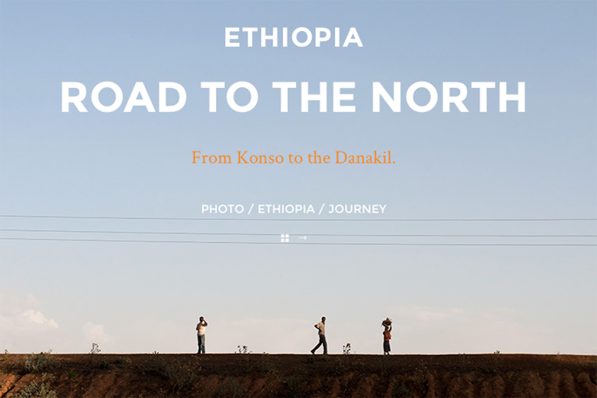 Road to the North, ETHIOPIA.