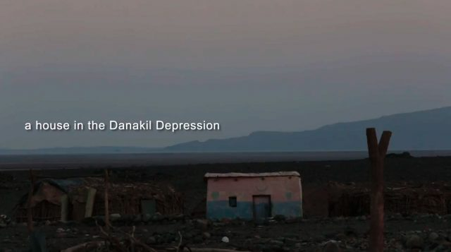 Short-stories. A house in the Danakil Depression