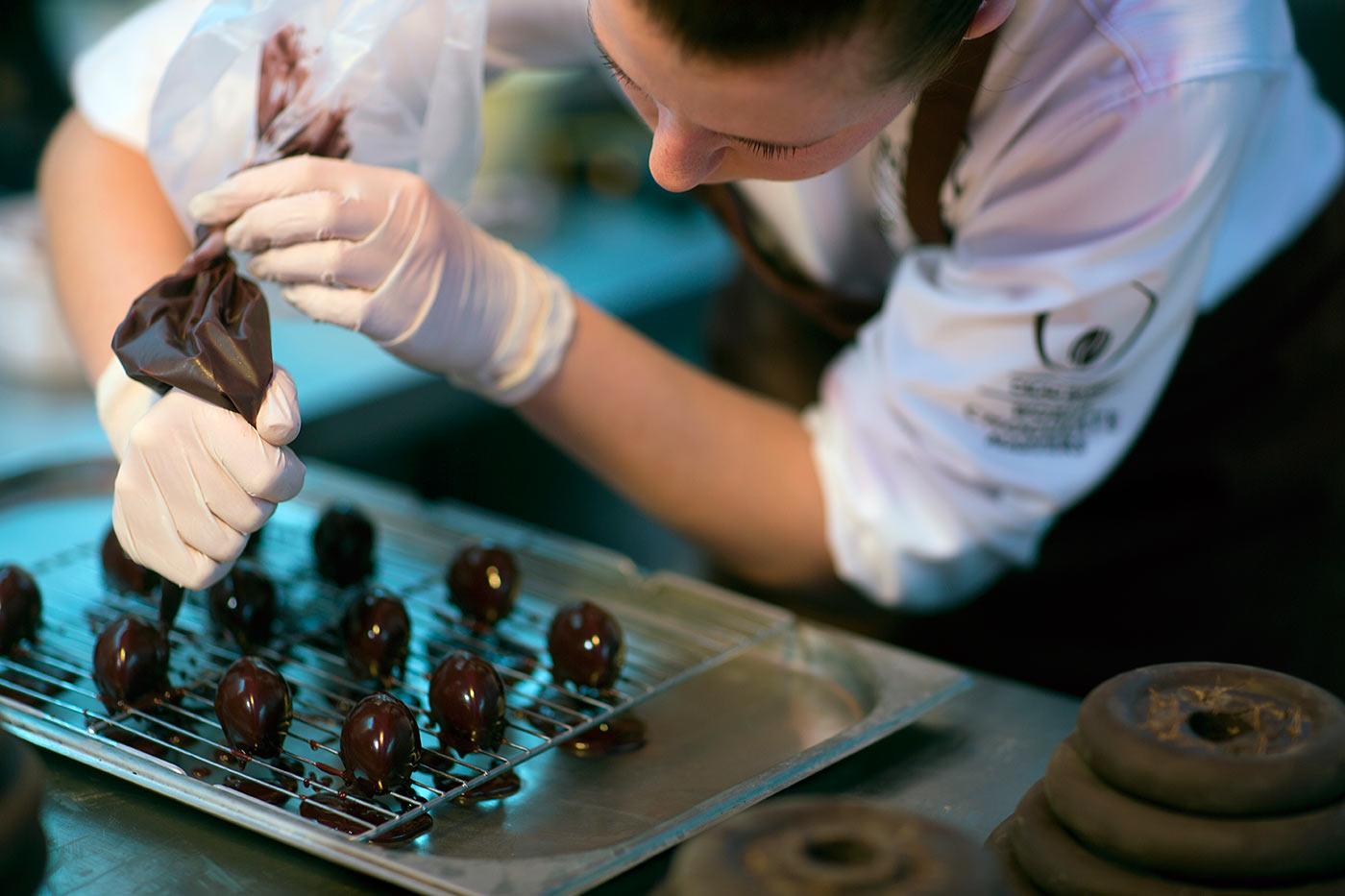 Futropolis. World Chocolate Masters Poland.